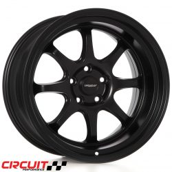 Circuit Performance CP25 18x10.5 5x114.3 Flat Black+22 Wheels