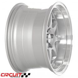 Circuit Performance CP25 18x10.5 5x114.3 Silver +22 Wheels