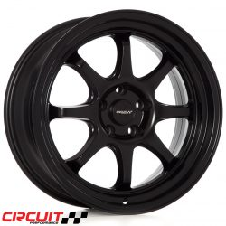 Circuit Performance CP25 18x8.5 5x114.3 Flat Black+18 Wheels