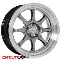 Circuit Performance CP25 18x8.5 5x114.3 Hyper Black+18 Wheels