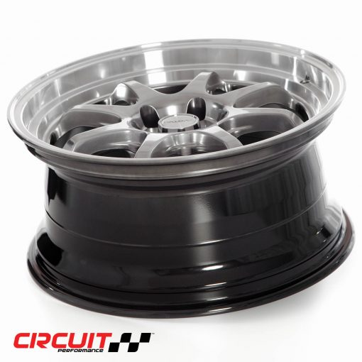 Circuit Performance CP25 18x8.5 5x114.3 Hyper Black +18 Wheel: CP25J885HB-18