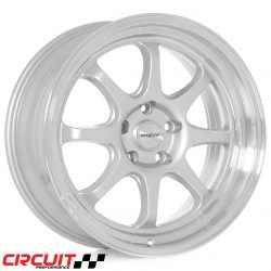 Circuit Performance CP25 18x8.5 5x114.3 Silver +18 Wheels