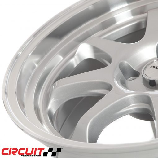 Circuit Performance CP25 18x8.5 5x114.3 Silver +18 Wheel: CP25J885SL-18