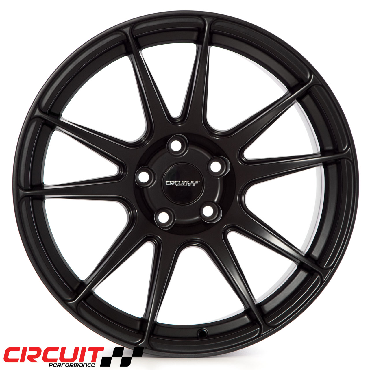 CP32 18x10.5 Flat Black 5x114.3 et22 Wheel - Circuit ...