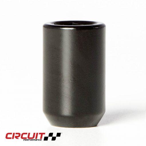Circuit Performance Forged Steel Tuner Acorn Lug Nut for Aftermarket Wheels: Black