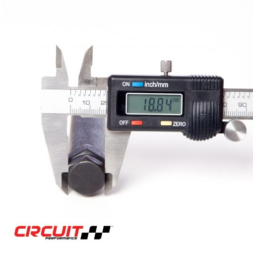 Circuit Performance 6 Point Spline Drive Small Diameter Lug Tool
