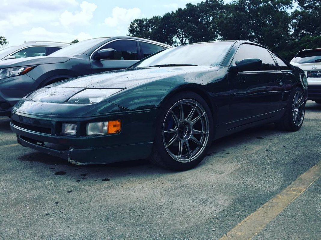 18x9 Cp32 Wheels On Nissan 300zx Circuit Performance